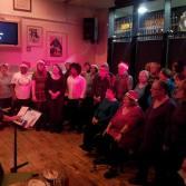 The choir's Christmas performance 2013