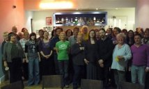 Photo of approximately 30 original members of Picturehouse Choir